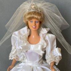 Muñecas Modernas: MUÑECA BARBIE DOLL PRINCESS DIANA MERCHANDISING DE LA NOVIA, SIN CAJA. Lote 292339933