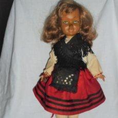Muñecas Modernas: MUÑECA CREO QUE MARY POPPINS WALT DISNEY 1964.PELIRROJA.VESTIDA CON TRAJE REGIONAL ASTURIANA?. Lote 294958048