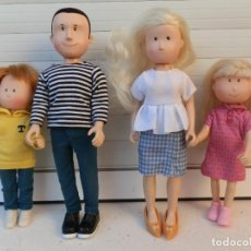 Muñecas Modernas: LA FAMILIA DE AMANDA, PADRE FELIX, MADRE VICTORIA, HERMANO TOM AMANDA. COLECCIONABLES .ITSIMAGICAL. Lote 295845638