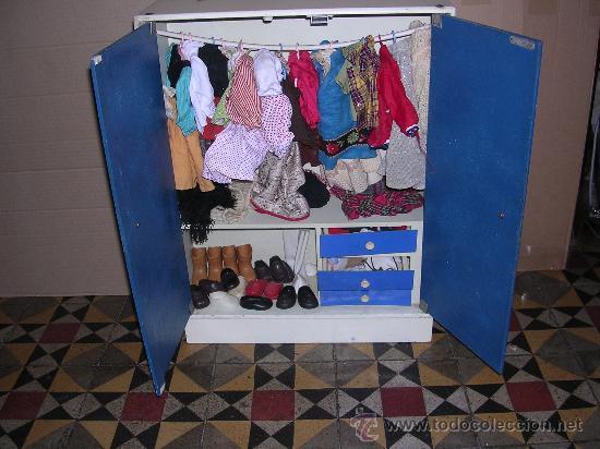 Artesanato De Pernambuco Unidade Recife ~ lote muñeca nancy, armario, ropa, vestidos, za Comprar