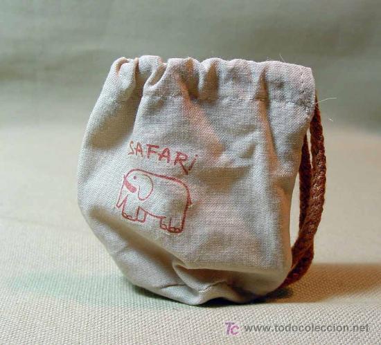 BOLSO SAFARI, BABY MOCOSETE (Juguetes - Muñeca Española Moderna - Nancy y Lucas, Vestidos y Accesorios)