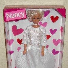 Muñecas Nancy y Lucas: NANCY MODEL,NOVIA,DE AGATHA RUIZ DE LA PRADA,FAMOSA,2003,CAJA ORIGINAL,A ESTRENAR. Lote 273193748