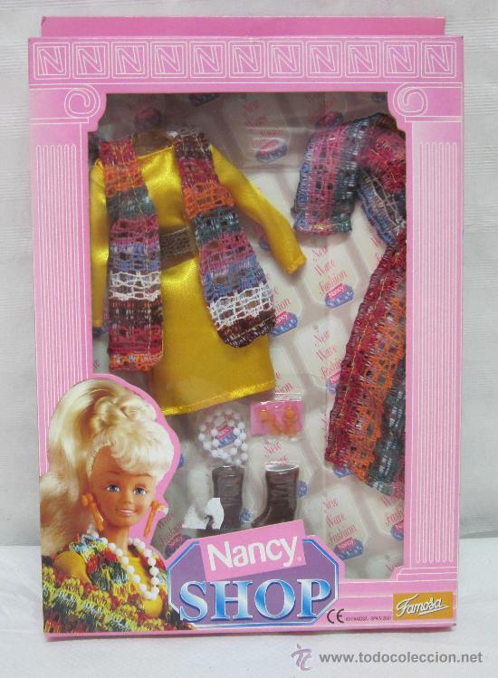 CONJUNTO NANCY MODEL,NANCY SHOP,BLISTER (Juguetes - Muñeca Española Moderna - Nancy y Lucas, Vestidos y Accesorios)