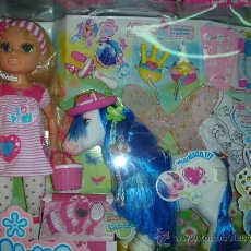 Muñecas Nancy y Lucas: NANCY Y SU PONY FANTASY. Lote 40868840