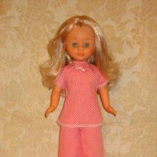 Muñecas Nancy y Lucas: NANCY PRECIOSA CON PIJAMA ROSA ORIGINAL. Lote 29547587
