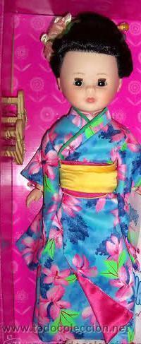 NANCY DE COLECCION QUIRON. MODELO JAPON Ó JAPONESA. NO ES LA GEISHA. (Juguetes - Muñeca Española Moderna - Nancy y Lucas)
