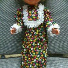 Muñecas Nancy y Lucas - VESTIDO MODELO FLORAL DE NANCY DE FAMOSA AÑOS 70. - 37032064