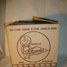Muñecas Nancy y Lucas: CAJA VACIA MUÑECAS DE FAMOSA ORIGINAL DE LOS AÑOS 70. ONIL ALICANTE.. Lote 37299871