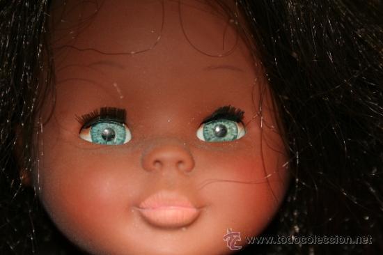 Muñecas Nancy y Lucas: antigua muñeca nancy negrita o negra años 70 articulada en buen estado - Foto 3 - 38458403