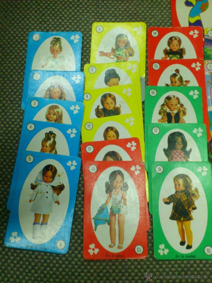 Muñecas Nancy y Lucas: . BARAJA DE NANCY - NAIPES O CARTAS. - Foto 2 - 39633961
