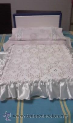 Preciosa cama de nancy con colcha de raso y g comprar vestidos y accesorios mu eca nancy y - Sabanas de raso precio ...