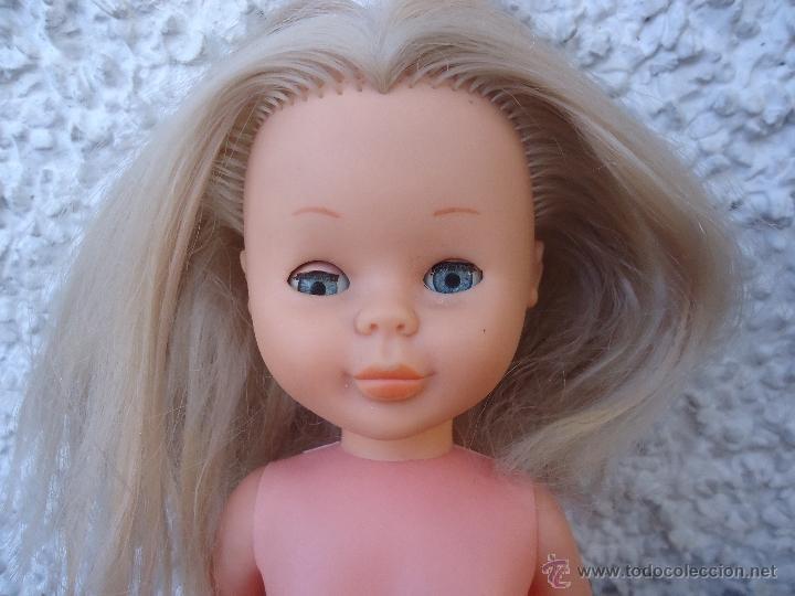 Muñecas Nancy y Lucas: Nancy rubia años 70 con ojos azules PARA RESTAURAR - Foto 2 - 40874570