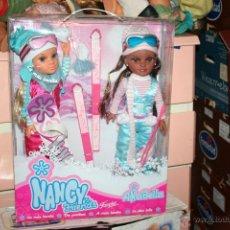 Muñecas Nancy y Lucas: PACK DE NANCY ESQUIADORA ANABELLA MUÑECA. Lote 121240743