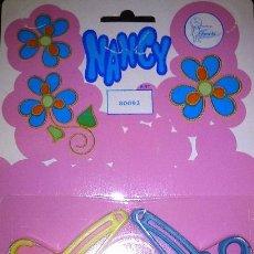 Muñecas Nancy y Lucas: NANCY. BLISTER 12 PERCHAS AÑOS 70. NUEVO Y PRECINTADO. Lote 46564211