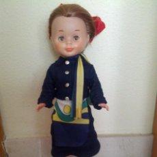 Muñecas Nancy y Lucas - Nancy azafata, muy bien cuidada, pelirroja, tobillo gordo solo famosa todo original - 42964490