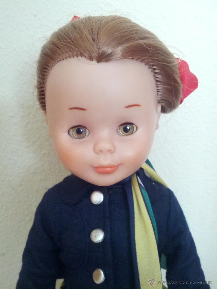Muñecas Nancy y Lucas: Nancy azafata, muy bien cuidada, pelirroja, tobillo gordo solo famosa todo original - Foto 2 - 42964490