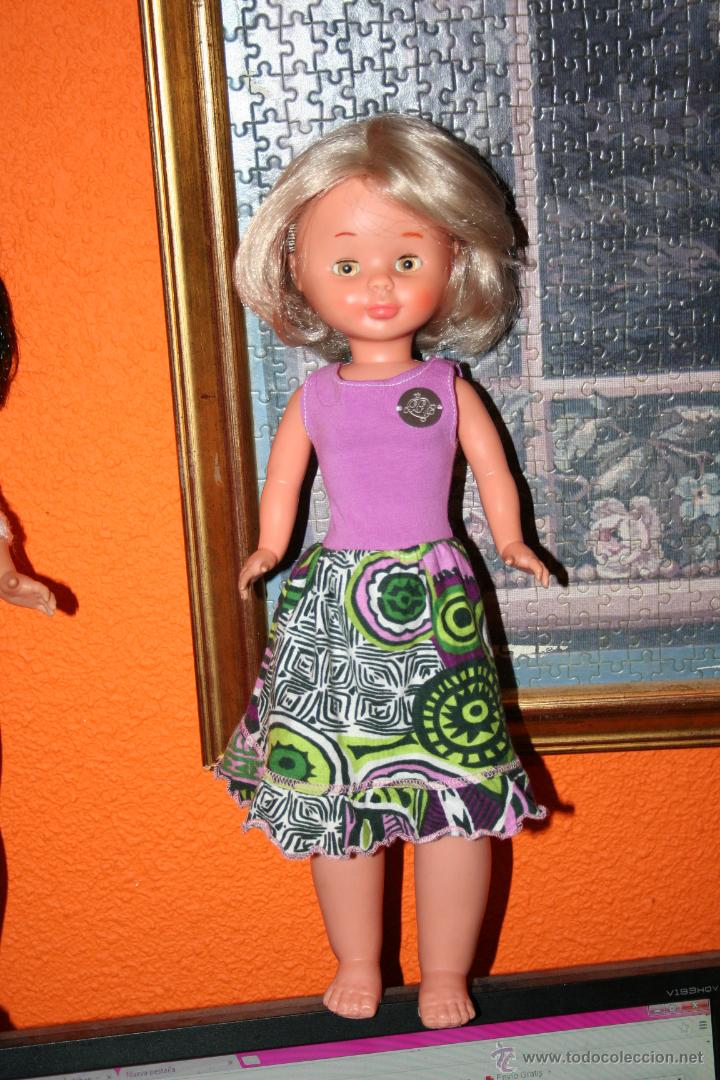 Muñecas Nancy y Lucas: antigua nancy patabollo o pierna gordita carita porcelana - Foto 2 - 45668569