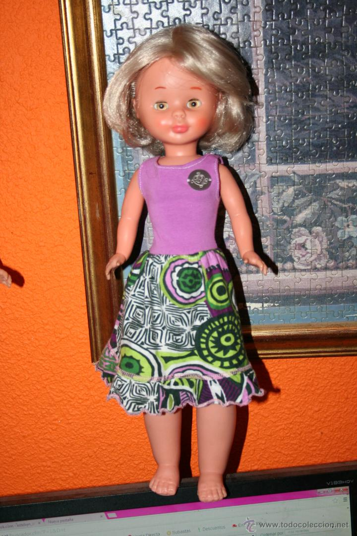 Muñecas Nancy y Lucas: antigua nancy patabollo o pierna gordita carita porcelana - Foto 3 - 45668569