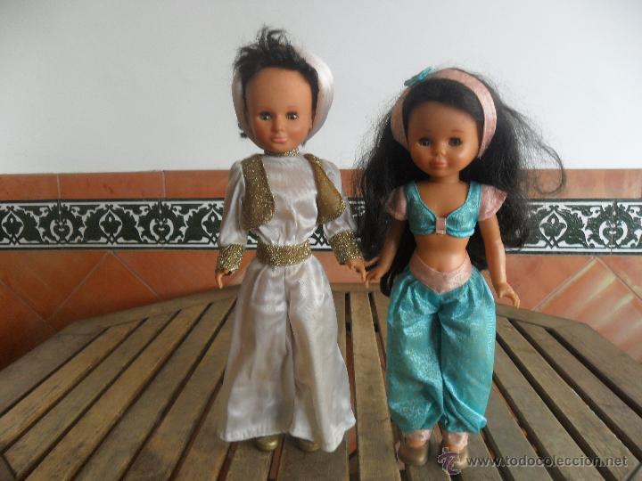 Muñecas Y Accesorios Nancy Jasmin Y Lucas Aladdín Serie Cuentos De Famosa Muñecas Modelo Y Accesorios