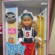 Muñecas Nancy y Lucas: NANCY ESQUIADORA, CAJA NUEVA,. Lote 47870158