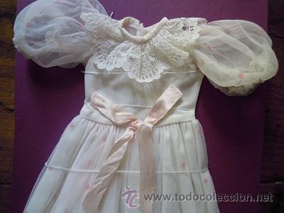 Muñecas Nancy y Lucas: Vestido comunión Nancy. Conserva etiqueta original nº 1750. - Foto 7 - 47986134