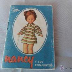 Muñecas Nancy y Lucas: CATALOGO ORIGINAL DE NANCY. Lote 48384961