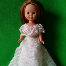 Muñecas Nancy y Lucas: NANCY VESTIDO BLANCO. Lote 48439103