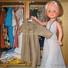 Muñecas Nancy y Lucas: NANCY VESTIDOS ORIGINALES: CAMEL. Lote 48600092