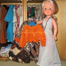 Muñecas Nancy y Lucas: NANCY VESTIDOS ORIGINALES: TUSSET. Lote 48600187