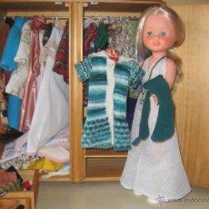 Muñecas Nancy y Lucas: NANCY VESTIDOS ORIGINALES: CIBELES VERDE. Lote 48600453