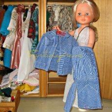 Muñecas Nancy y Lucas: NANCY VESTIDOS ORIGINALES: SAFARI AZUL. Lote 48600673