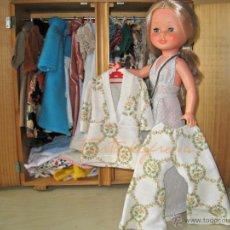 Muñecas Nancy y Lucas: NANCY VESTIDOS ORIGINALES: PIJAMA BEIGE. Lote 48600712