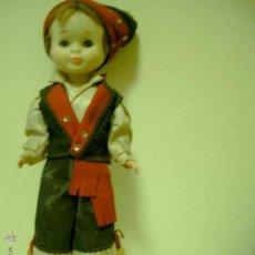 Muñecas Nancy y Lucas: MUÑECA NANCY REGIONAL ORIGINAL ASTURIANA.GALLEGA AÑOS 60. Lote 47238651