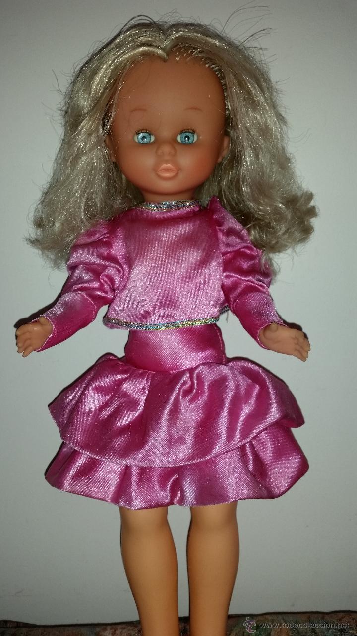 Muñecas Nancy y Lucas: Nancy daypa de famosa rubia pelo rizado con ropa original - Foto 2 - 49070910