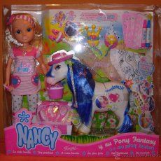 Muñecas Nancy y Lucas: NANCY Y SU PONY FANTASY. Lote 50468077