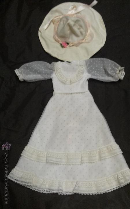 NANCY VESTIDO NOSTALGIA AÑOS 70 ORIGINAL - FAMOSA (Juguetes - Muñeca Española Moderna - Nancy y Lucas, Vestidos y Accesorios)