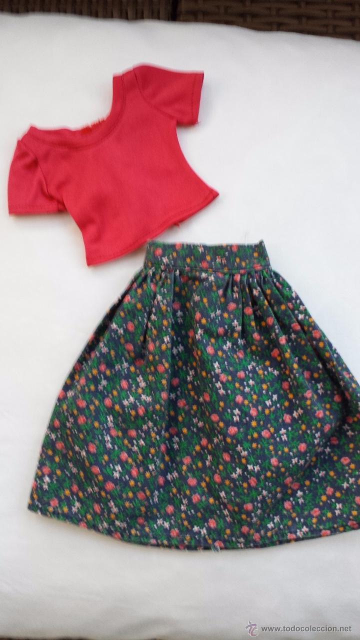 NANCY CONJUNTO FLORES ORIGINAL (Juguetes - Muñeca española Moderna - Nancy y Lucas, vestidos y accesorios)