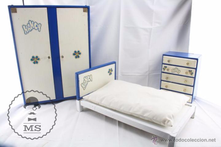 Artesanato Da Tribo Xavantes ~ conjunto de habitación de nancy famosa cama Comprar Vestidos y accesorios muñeca Nancy y