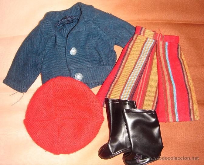 NANCY. CONJUNTO BOULEVARD AÑOS 70 (Juguetes - Muñeca Española Moderna - Nancy y Lucas, Vestidos y Accesorios)