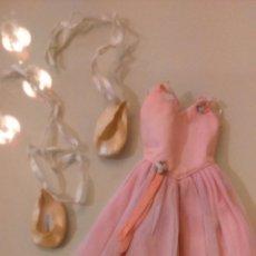 Muñecas Nancy y Lucas: VESTIDO NANCY BALLET CON ZAPATILLAS ORIGINAL AÑOS 80. Lote 54184286