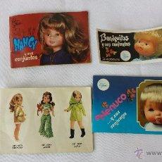 Muñecas Nancy y Lucas: LOTE DE CATALOGOS ORIGINALES NANCY, NENUCO Y BARRIGUITAS. Lote 54471596