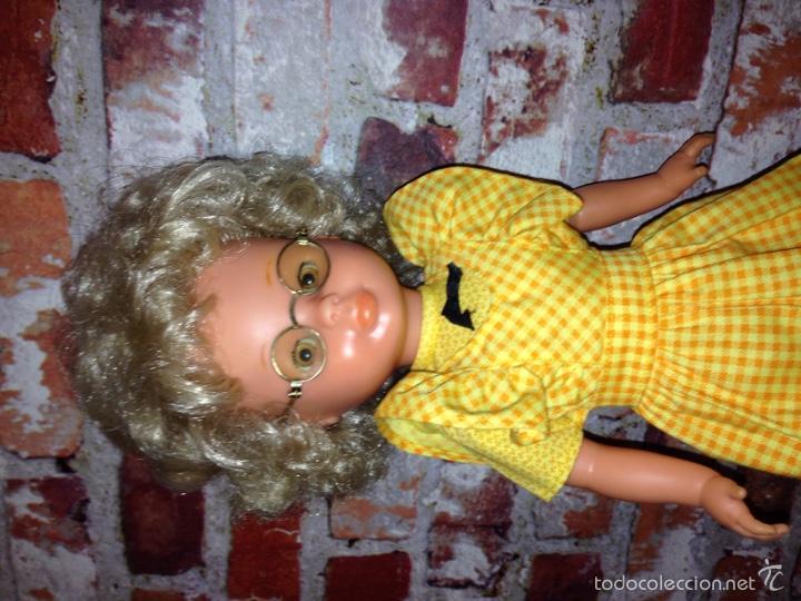 Muñecas Nancy y Lucas: Rara nancy d famosa, rubia pelo afro. Sin raya en el pelo. - Foto 2 - 55127489