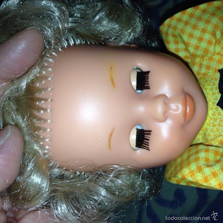Muñecas Nancy y Lucas: Rara nancy d famosa, rubia pelo afro. Sin raya en el pelo. - Foto 3 - 55127489