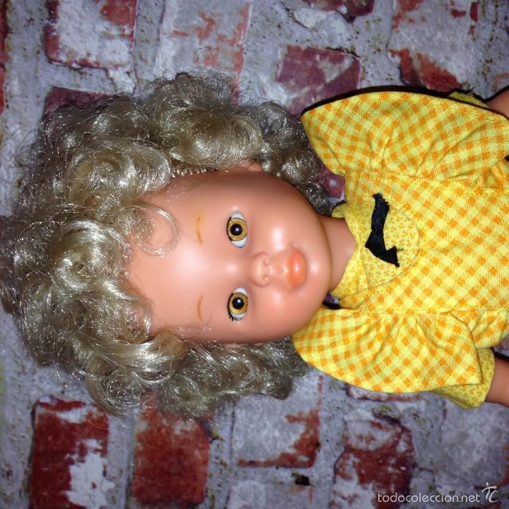 Muñecas Nancy y Lucas: Rara nancy d famosa, rubia pelo afro. Sin raya en el pelo. - Foto 5 - 55127489