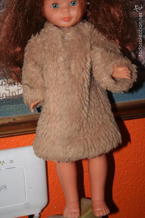 abrigo dias de frio muñeca nancy segunda mano