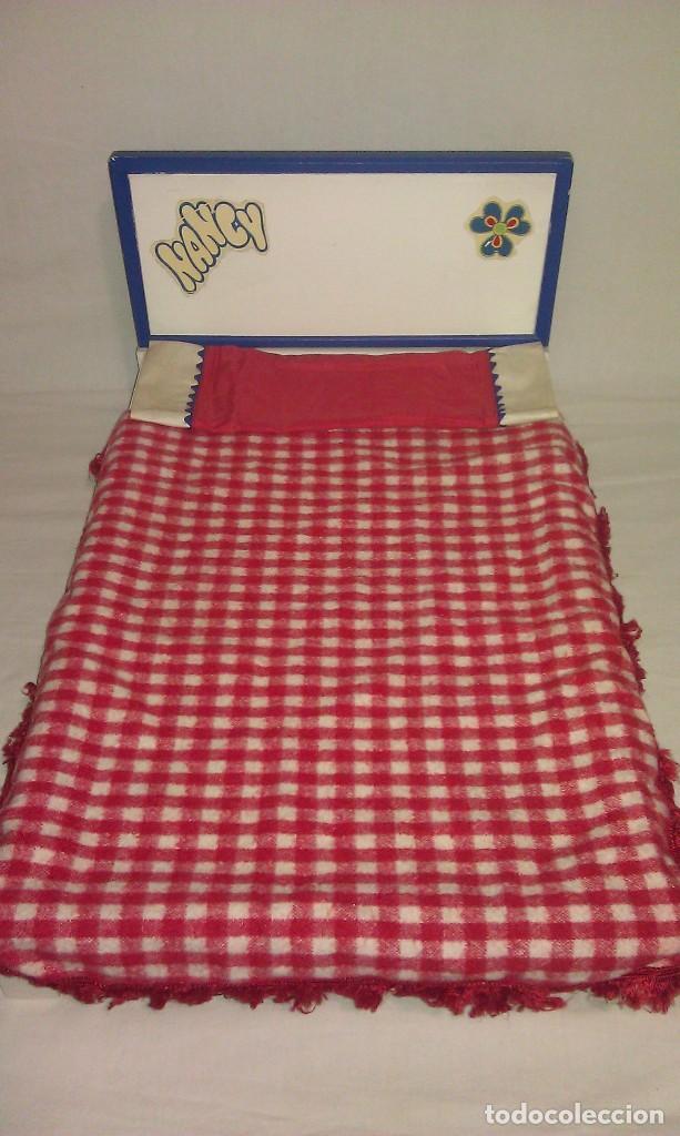 Cama Original De La Muneca Nancy Con Su Colcha Comprar Vestidos Y - Cama-original