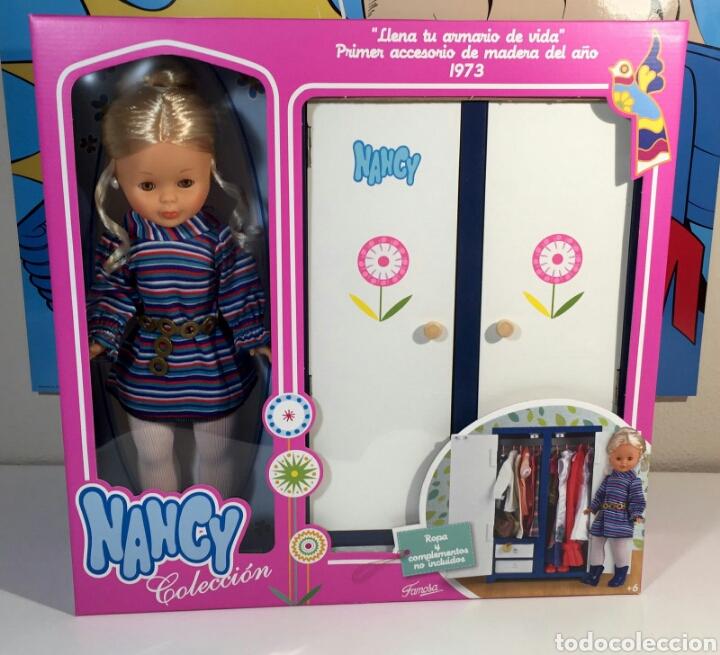Artesanato Da Tribo Xavantes ~ muñeca nancy rubia de famosa y su armario de co Comprar Muñecas Nancy y Lucas en todocoleccion