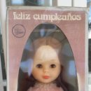 Muñecas Nancy y Lucas: MUY DIFICIL NANCY FELIZ CUMPLEAÑOS NUEVA EN CAJA AÑOS 70. Lote 64884155