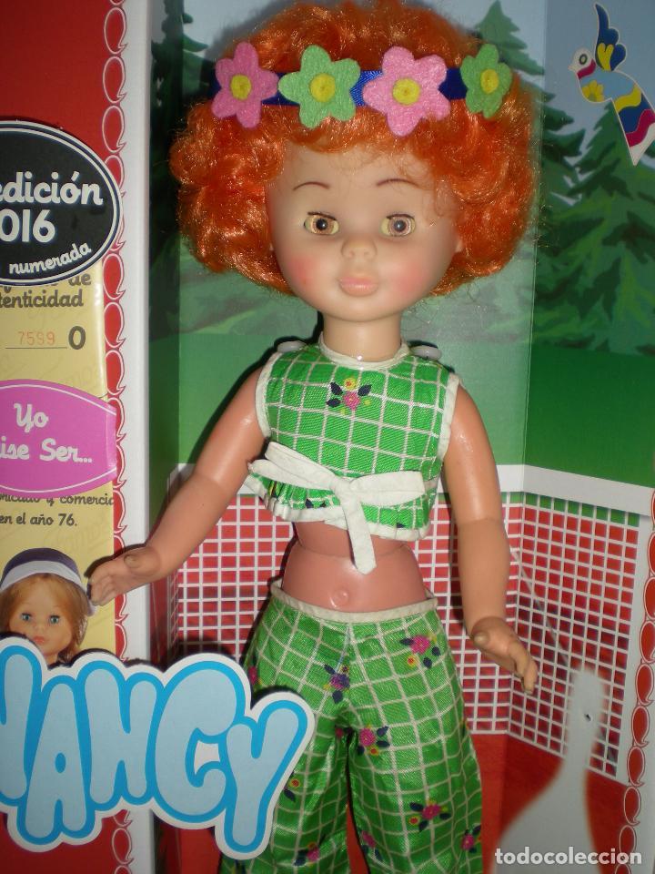 Muñecas Nancy y Lucas: nancy articulada en el jardín AÑOS 70 pelo afro naranja como la del catalogo injertada ha maquina - Foto 3 - 70122165