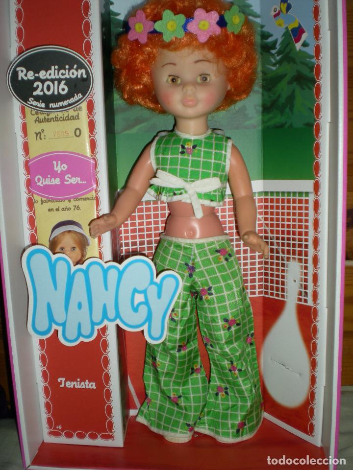 Muñecas Nancy y Lucas: nancy articulada en el jardín AÑOS 70 pelo afro naranja como la del catalogo injertada ha maquina - Foto 4 - 70122165